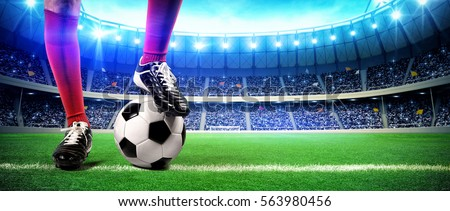 Shutterstock Football stadium