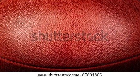 football texture with bottom seam showing and center spotlight