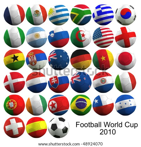 Football World Cup - stock photo