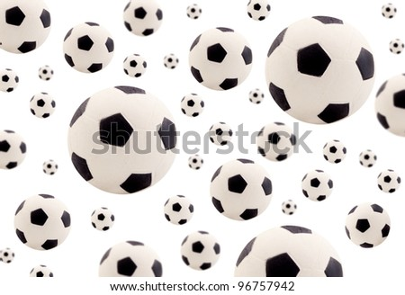 footballs background