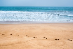 FOOTPRINTS ON THE SAND, GRAND POPO, BENIN