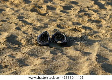 footprints on the shores of the Mediterranean #1555044401