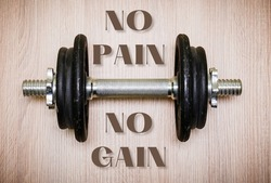 For every person no gain is achieved without pain. In the field of bodybuilding pain is an essential part of the body builders life. So that's why no pain no gain