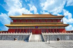 Forbidden City in Beijing - China