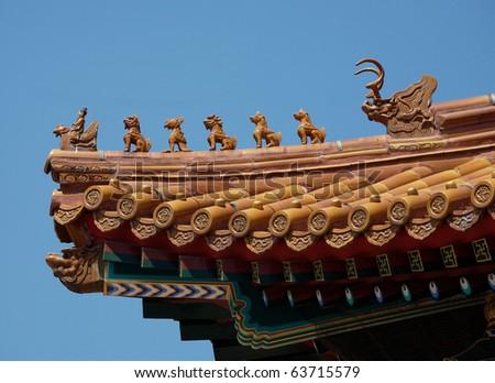 Forbidden City magical rooftops