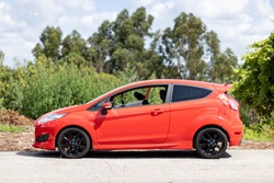 Ford Fiesta ST in Red