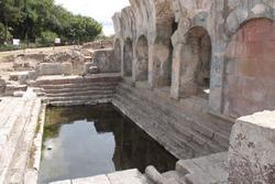 Fordongianus Roman baths in Sardinia
