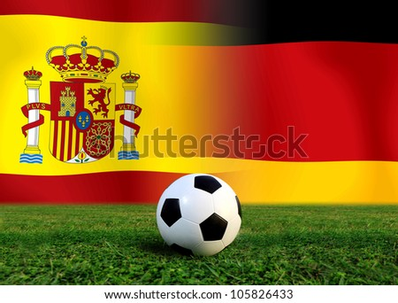Forecast European Championship the  European cup four team last Competition between Spain vs German