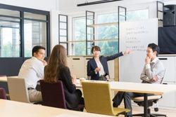 Foreigners studying Japanese (Japanese language schools / language schools)