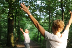Forest bathing (Shinrin yoku), nature therapy