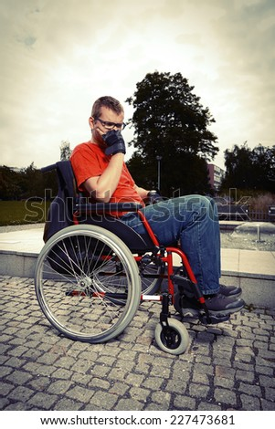 Forever on wheel chair