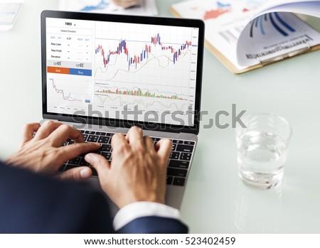 Forex Trade Graph Chart