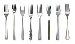 fork isolated on white background