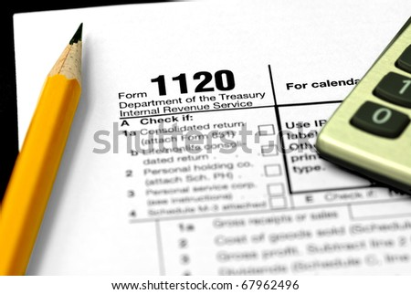 Form 1120 Corporate Tax Return