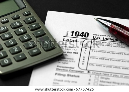 Form 1040 Federal Income Tax Return