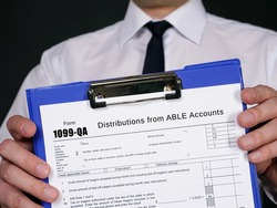 Form 1099-QA Distributions from ABLE Accounts