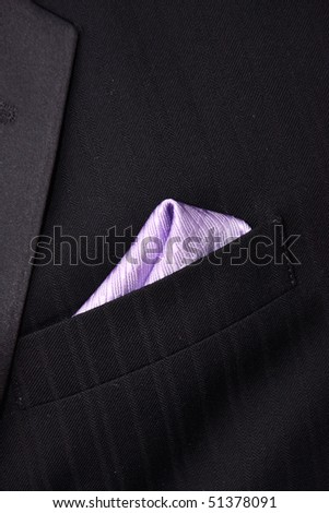 formal wear elegant businesman, purple color