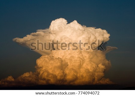 Formation of cumulonimbus cloud