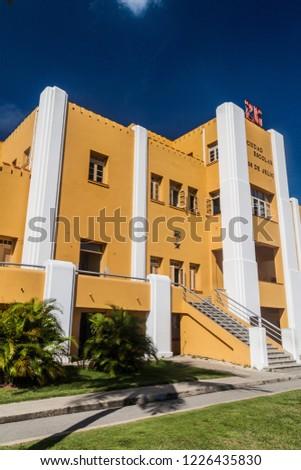 Former La Moncada baracks, important place of Cuban history, Santiago de Cuba