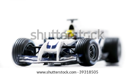 Formula 1 race detailed sport car. Focus is on the front part of the  car. Beautiful photograph for your magazine or poster!
