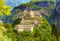 Fort Bard in Italy