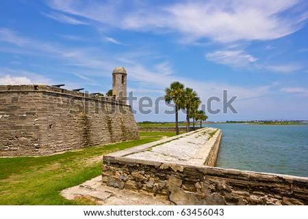 Fort Castillo de San Marcos , St. Augustine, Florida, US