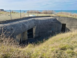 Fort Hommet Bunker, Guernsey Channel Islands