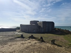 Fort Hommet, Guernsey Channel Islands