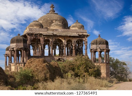 Fort in Ranthambhore National Park, Rajasthan, India.