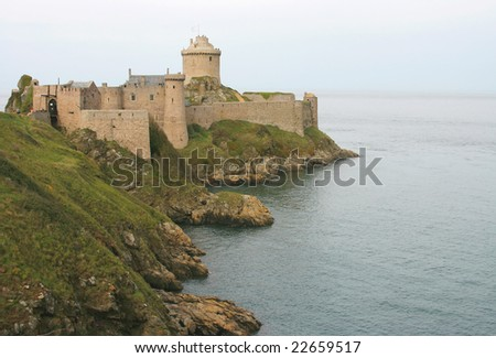 Fort La Latte-an impressive fortress from the 13th century dominating the ocean.