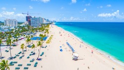 Fort Lauderdale Beach. Florida. USA.