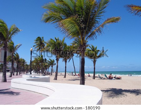 Fort Lauderdale Beach, Florida USA