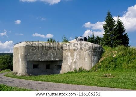 Fort (Na Holem) in Eastern Bohemia near Rokytnice town #116186251