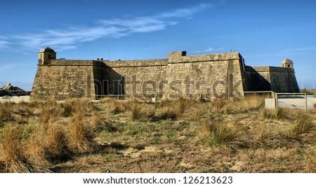Fort of St. John in Vila do Conde, Portugal