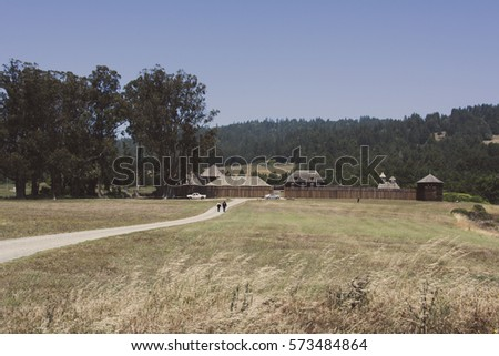 fort ross state park in...