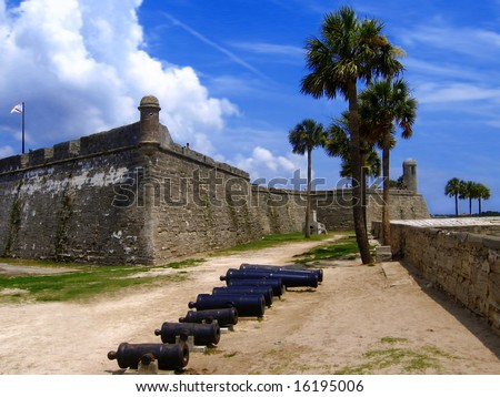 Fort, San Marco, St. Augustine, Florida, US