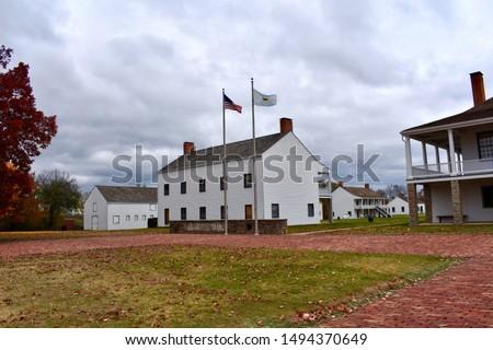 Fort Scott National Historic Site, Kansas ストックフォト ©