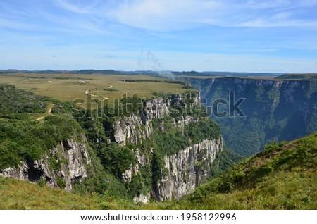 Fortaleza Canyon, Cambará do Sul - Rio Grande do Sul - Brazil Foto stock ©