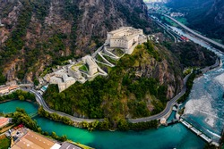 Forte di Bard Bard Castle Aosta Italy Avengers age of ultron