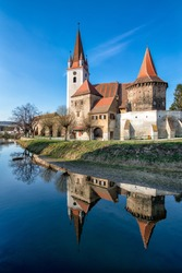 Fortified Church of Cristian Sibiu Transylvania, Romania, Medieval Church, Medieval Architecture