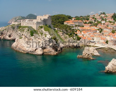 Fortress Lovrijenac which guards the northern side of Dubrovnik