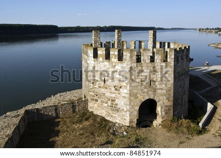 Fortress of Smederevo on the Danube, in Serbia