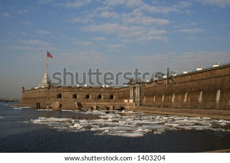 Fortress of St Peter and Paul in St Petersburg