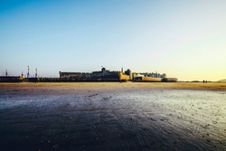 Fortress on the beach Saint Malo