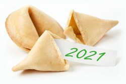Fortune cookies and label 2021