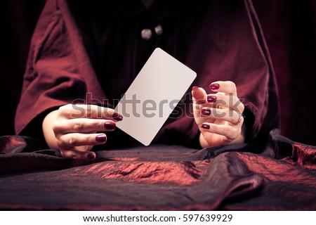 Fortune Teller's Hands #597639929