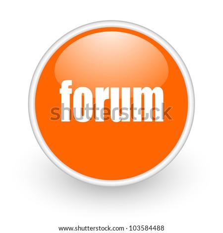 Forum Icon Stock Photo 103584488 : Shutterstock
