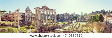 forum romanum view from the...