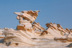 Fossil Dunes Formations in Abu Dhabi