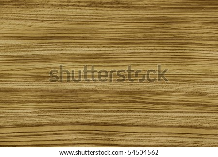 Foto: Natural veneer of an Zebrano